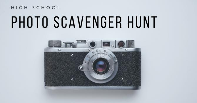 High School Photo Scavenger Hunt