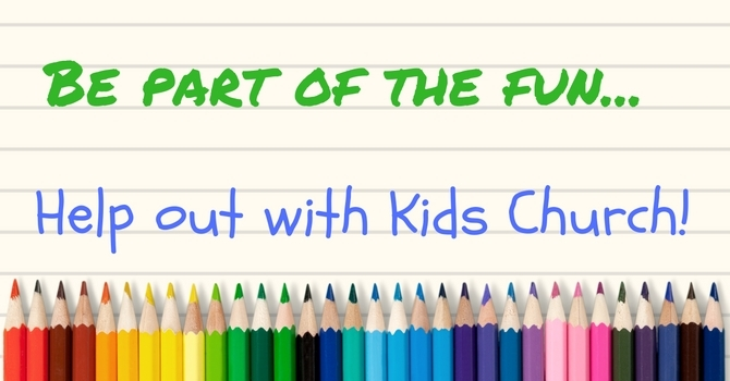 Kids Church News image