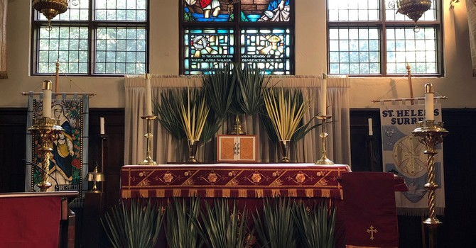 Service Sheet  and Video of the Service for Palm Sunday April 5th image