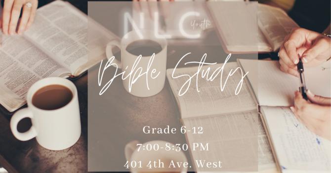 Youth Wednesday Bible Study! image