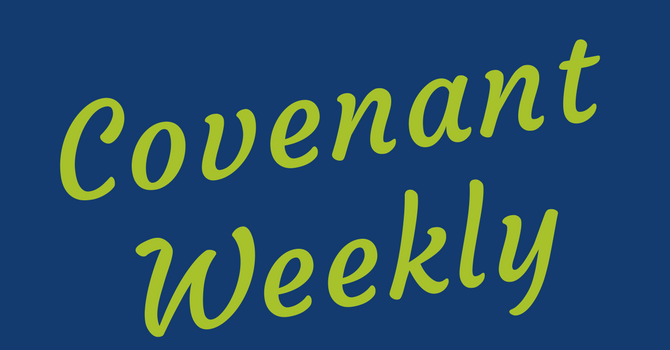Covenant Weekly - December 3, 2018