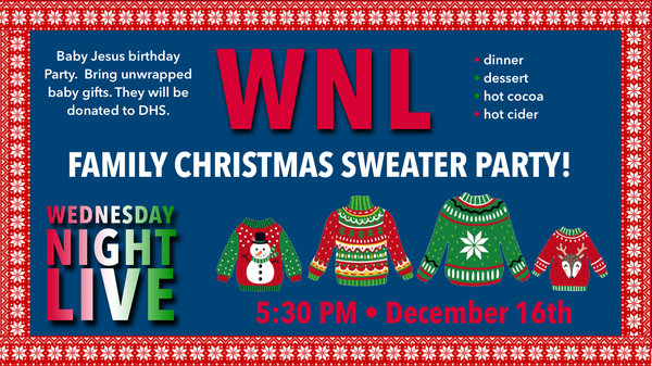 WNL Family Christmas Sweater Party