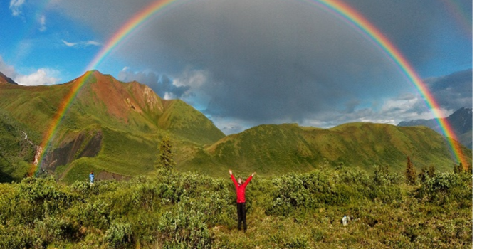 Noah - The First Man to See a Rainbow image
