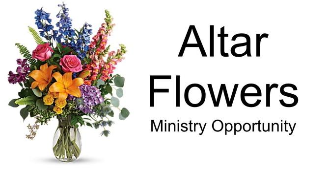Altar Flowers  image