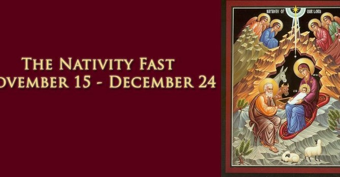 The Nativity Fast – Why We Fast image
