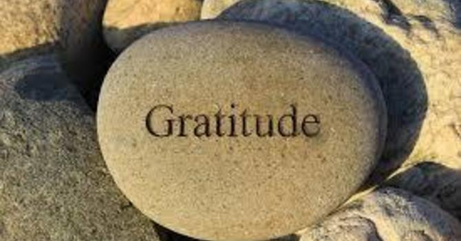"""Gratitude: More Than Just Me"" (3 or 4)"