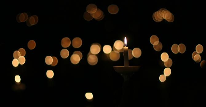 Candle Lighting For Christmas image