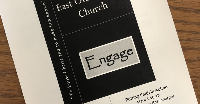 October 14, 2018 Church Bulletin image