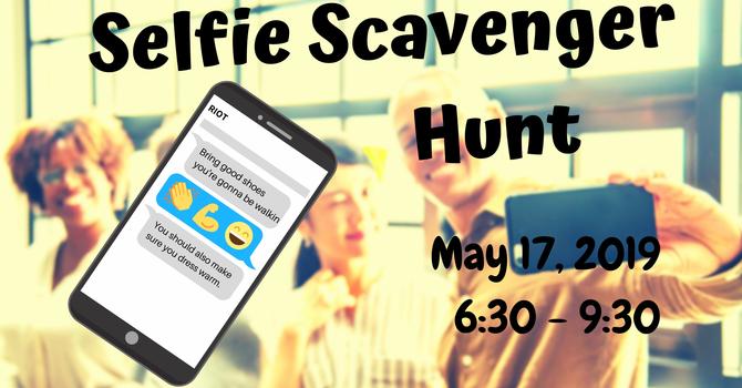 RIOT Selfie Scavenger Hunt