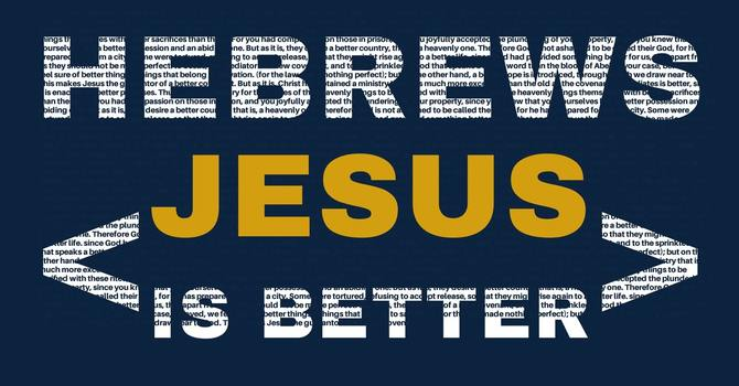 Jesus is a BETTER PREACHER