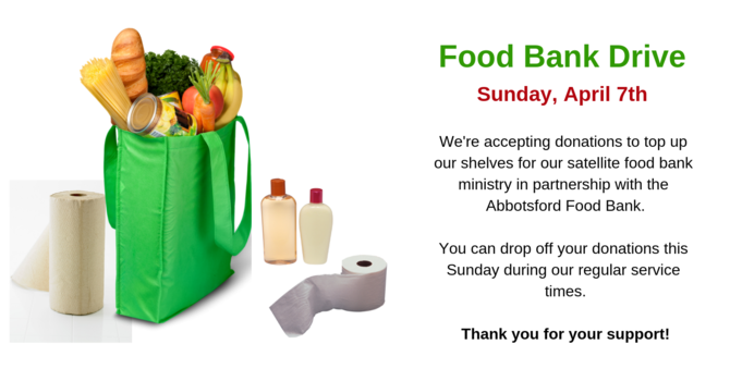 Food Bank Drive image