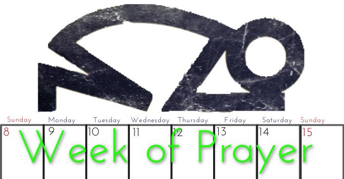 Week of Prayer at LCF image