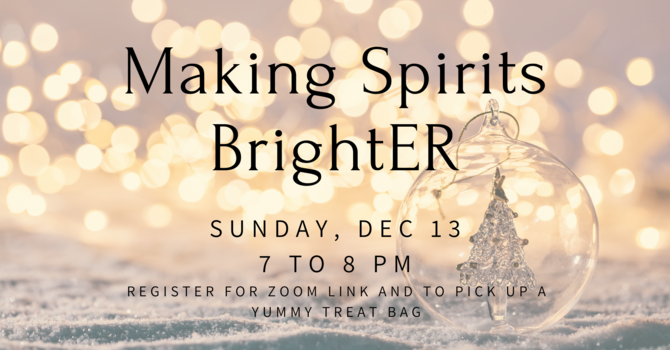 Young Adults - Making Spirits BrightER Online