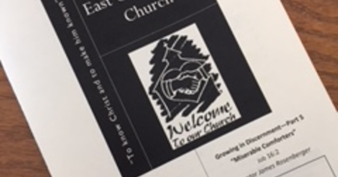 February 18, 2018 Church Bulletin image