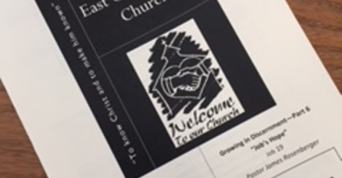 February 25, 2018 Church Bulletin image