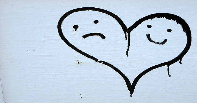 Split heart....  Huh? image