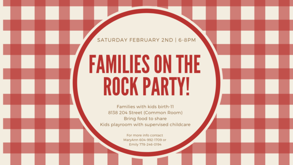 Families on the Rock Party