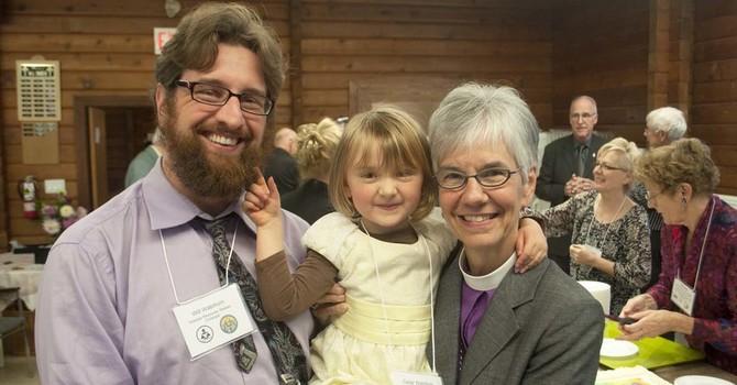 Bishop Melissa Skelton visits All Saints image