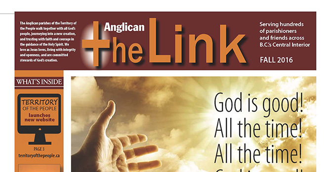 October Anglican Link image