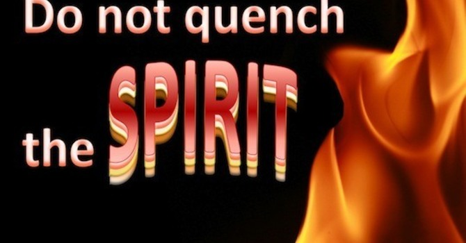 Do not quench the Spirit image