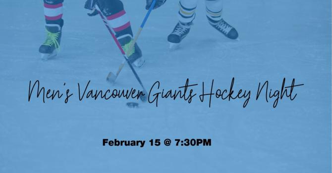 Men's Vancouver Giants Hockey Night