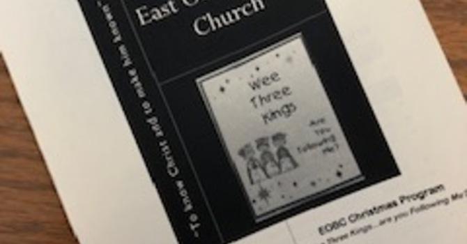 December 16, 2018 Church Bulletin image