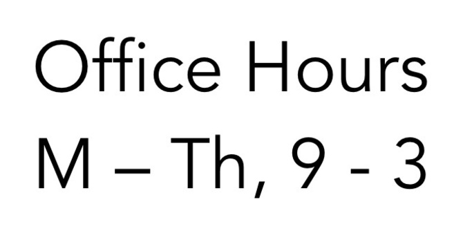 New Core Office Hours