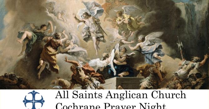 Cochrane Prayer Night May 20