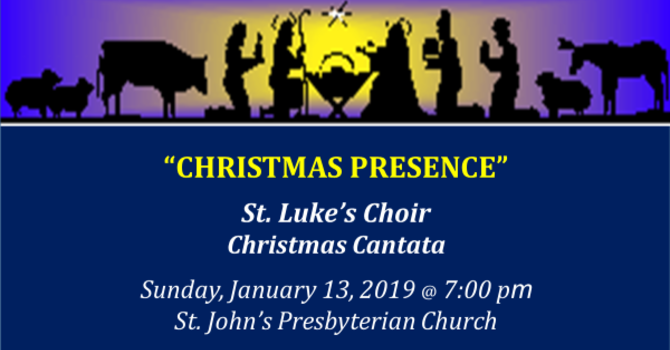 St. Luke's Choir Cantata image