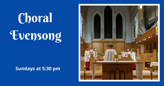 Choral Evensong - December 6, 2020