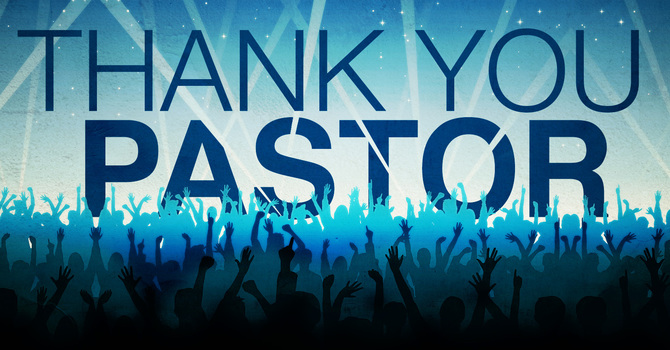 """Thank You Pastor Wayne"" image"
