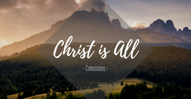 Colossians 4:2-6 - Jesus: Don't Waste Your Life
