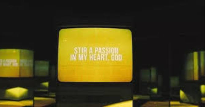 Worship Leader Musings: Stir a Passion image