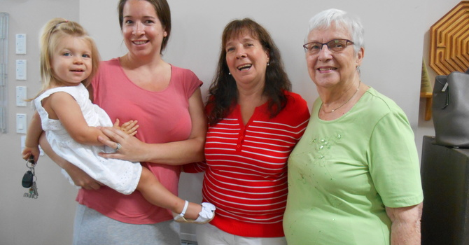 4 Generations Worshipping Together image