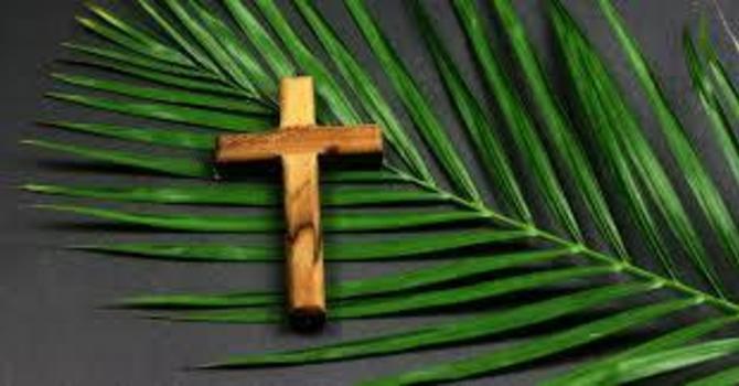 Palm Sunday Service  image