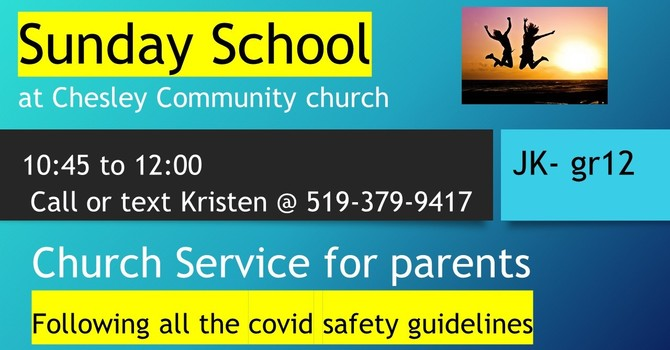 Sunday School Update image