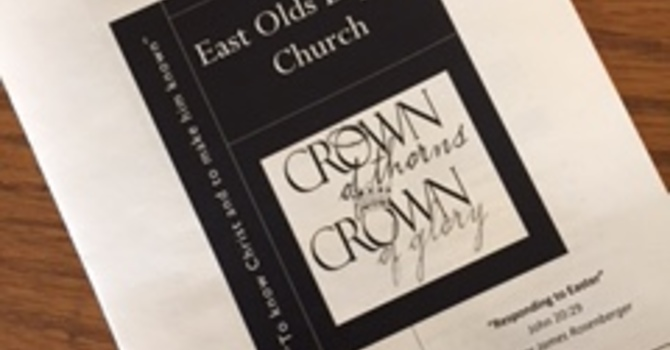 April 23, 2017 Church Bulletin image