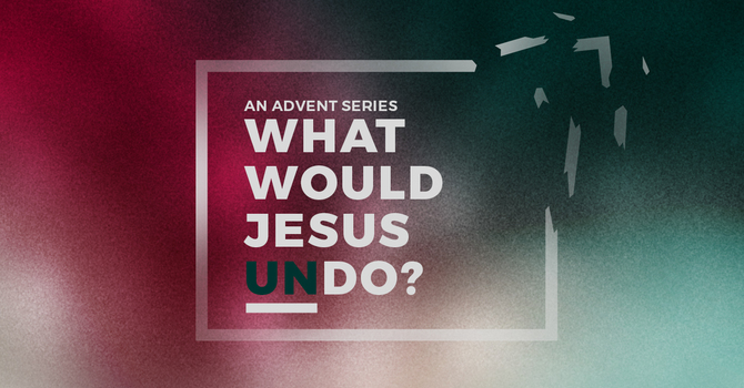 Jesus Came To Undo Despair