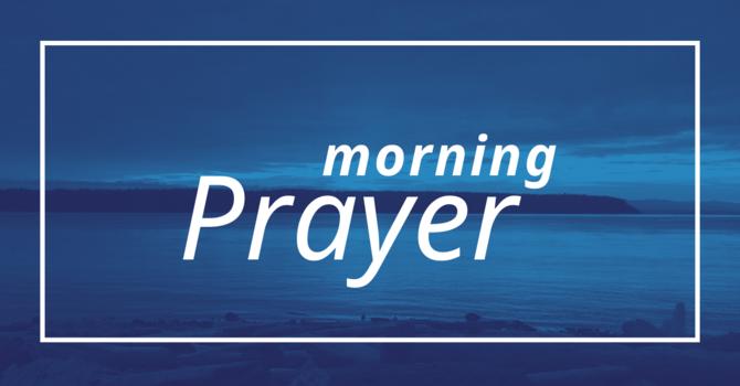 Morning Prayer - March 29, 2020