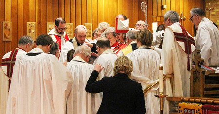 Ordination of Deacon and Priest, January 25