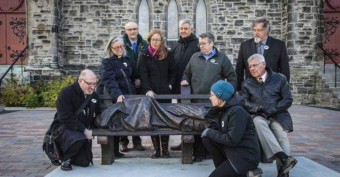 Faith Leaders from across Canada visit the Homeless Jesus image