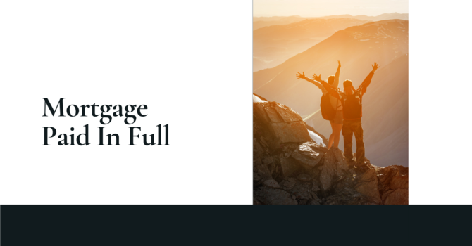 Mortgage Paid In Full image