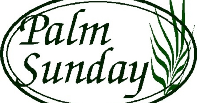 Palm Sunday and Easter letter image