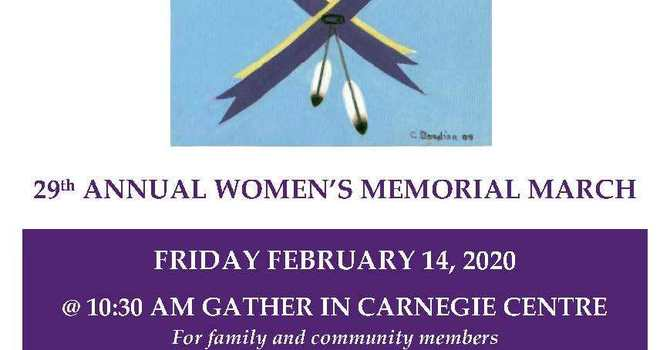 29th Annual Women's Memorial March