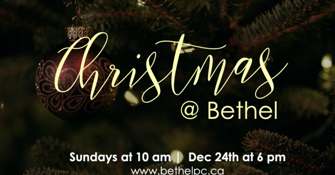 RSVP for Christmas at Bethel image
