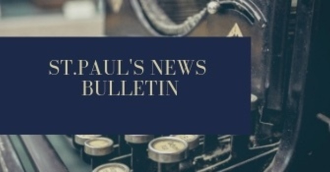 St. Paul's January 13th News Bulletin image