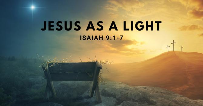 Jesus as a Light
