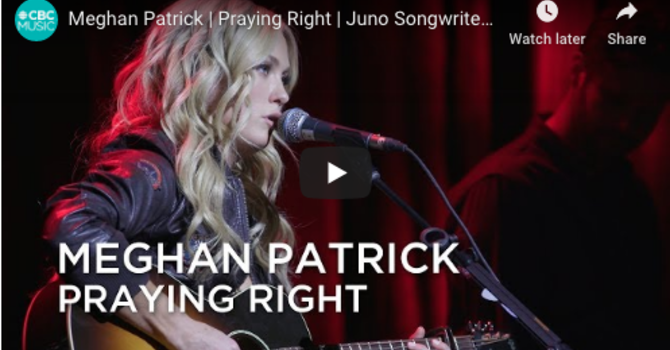 Meghan Patrick | Praying Right |  image