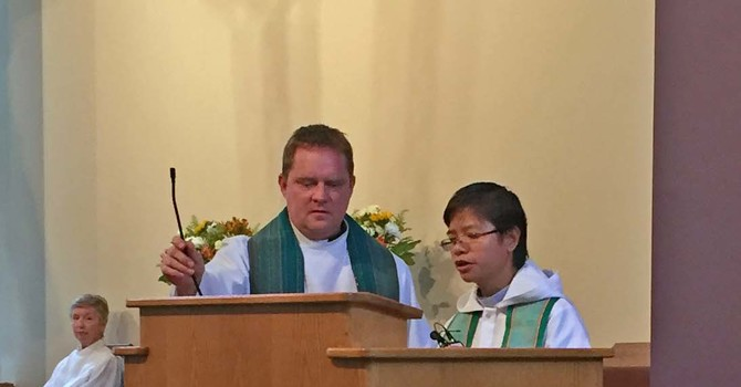 Guest Preacher from the Philippines visits St. Laurence image