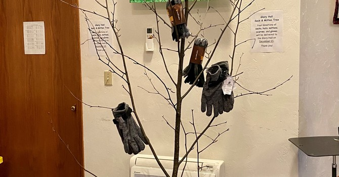 Glory Hall Glove & Hat Tree image